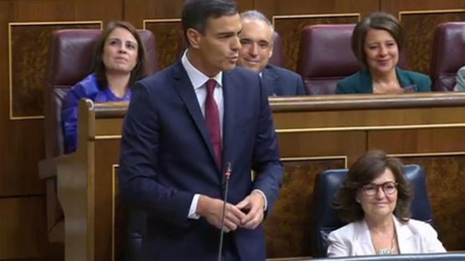 Sessió de control a Pedro Sánchez al Congrés