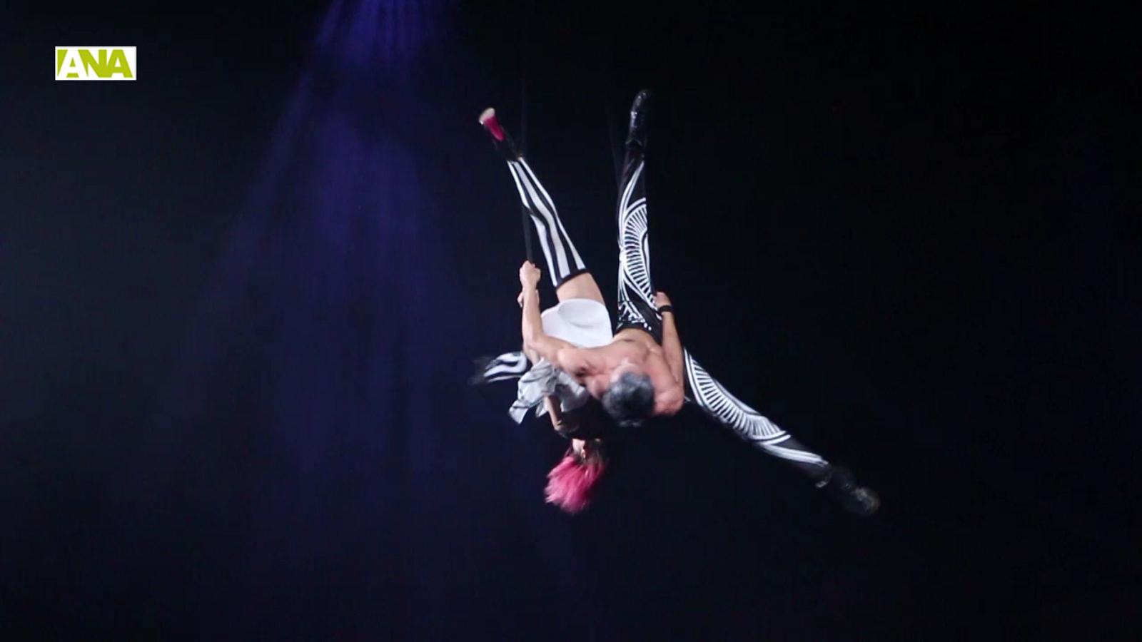 Estrena del nou espectacle del Cirque du Soleil / M. T. (ANA)