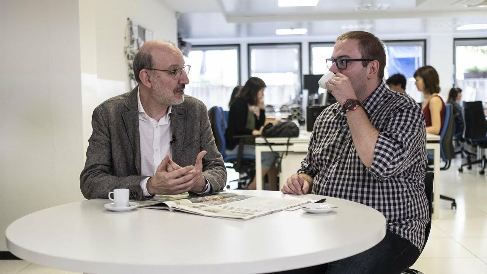 El cafè de la Lliga: A Mateu Lahoz se l'ha menjat el personatge