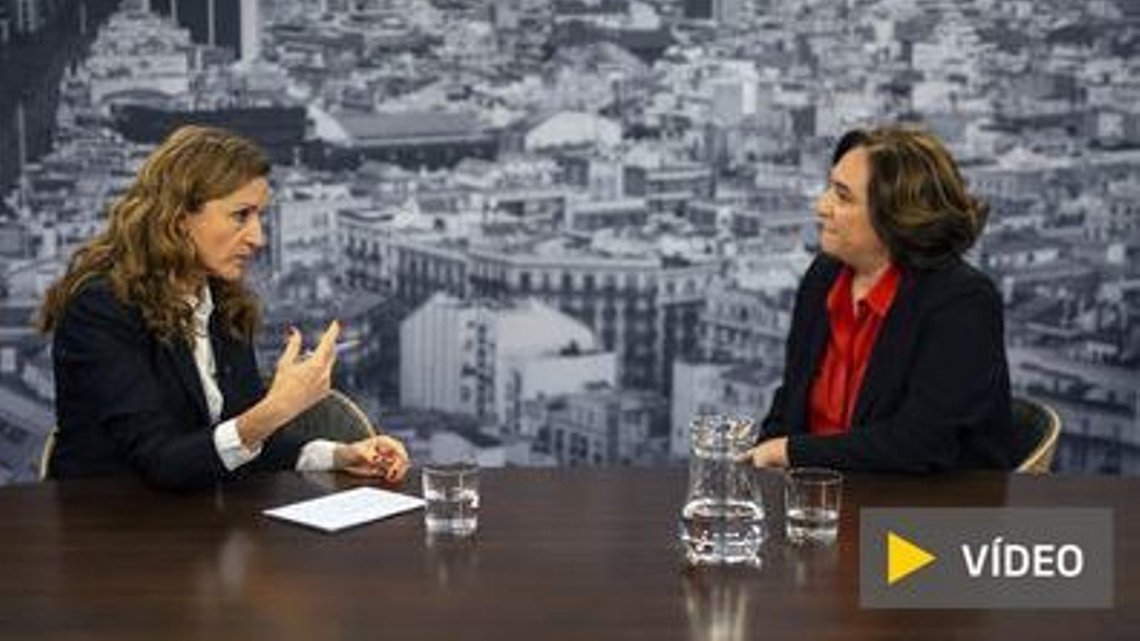 """Ada Colau: """"Valls busca fer alarmisme amb la seguretat, com fa l'extrema dreta"""""""