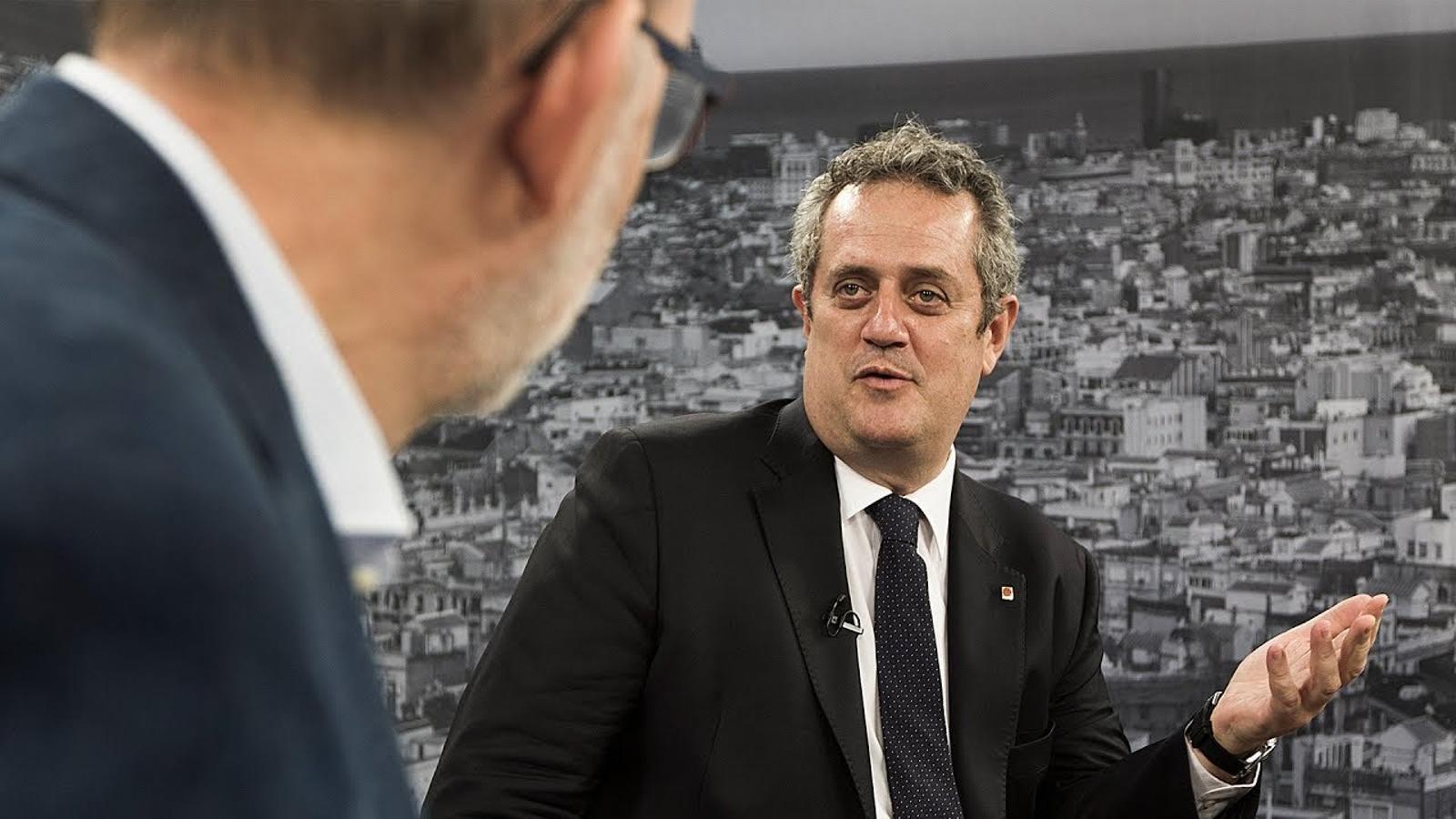 Antoni Bassas entrevista a Joaquim Forn