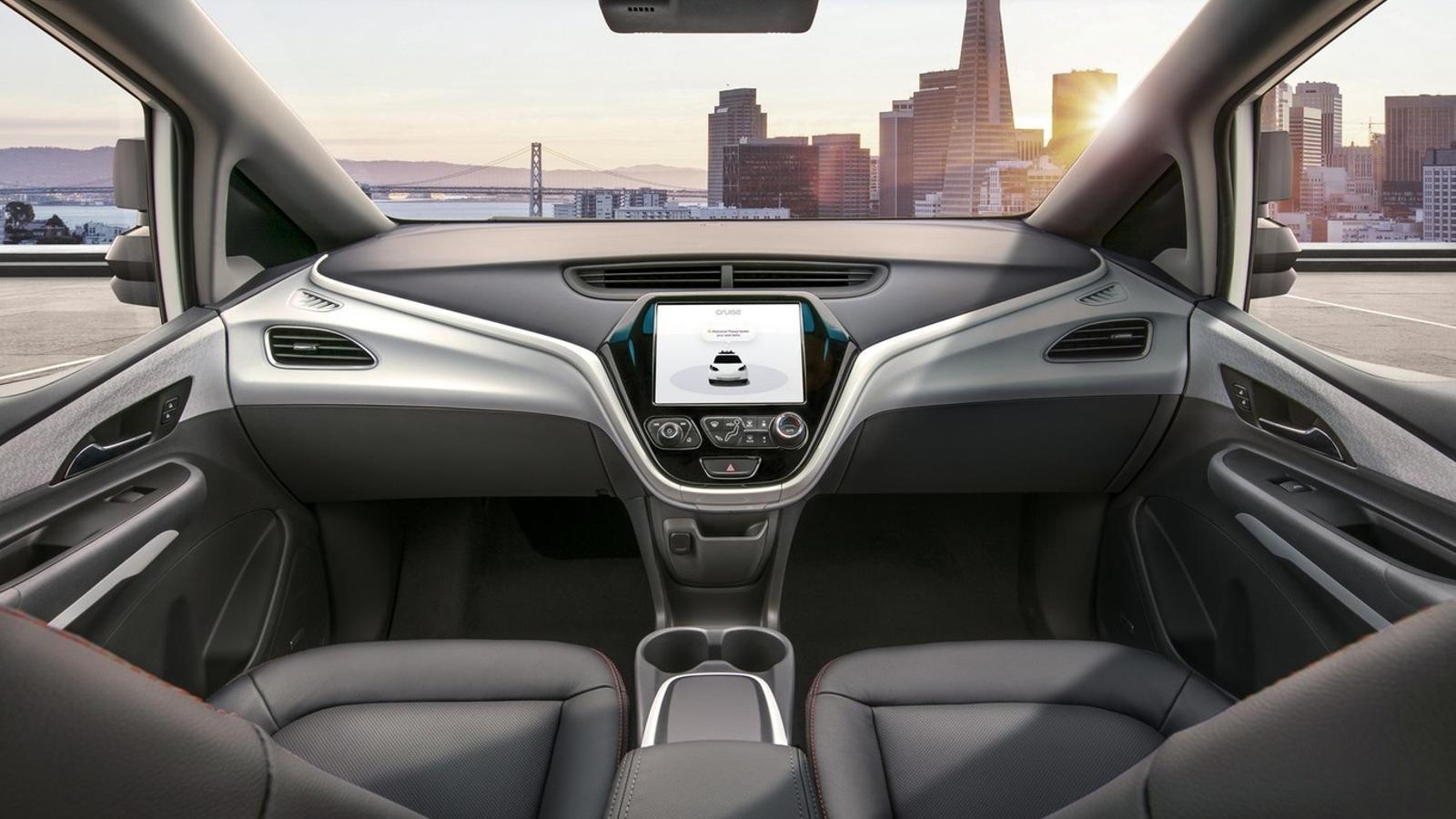 General Motors fabricarà un cotxe sense volant ni pedals l'any vinent