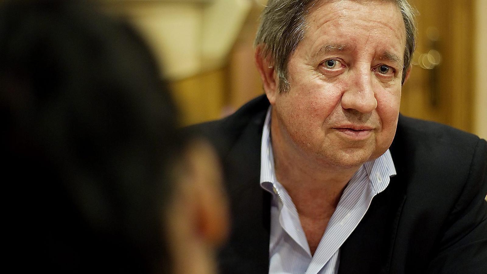 El financer Javier de la Rosa en una imatge del 2011, un any abans que denunciés  els Pujol.