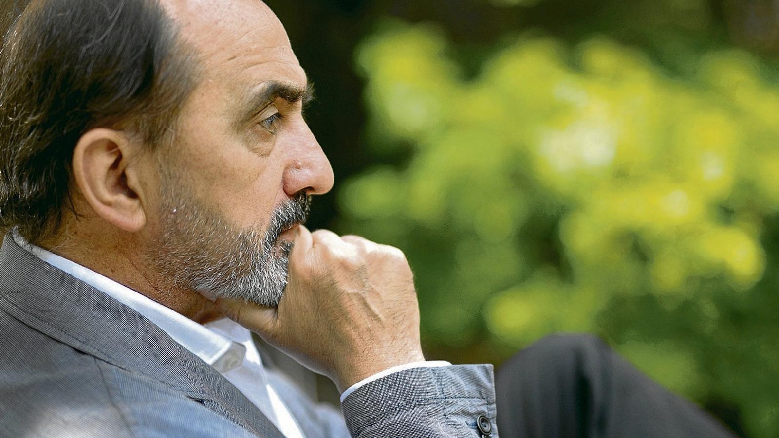 Daniel Innerarity  en una imatge d'arxiu  durant  una visita  a Barcelona.