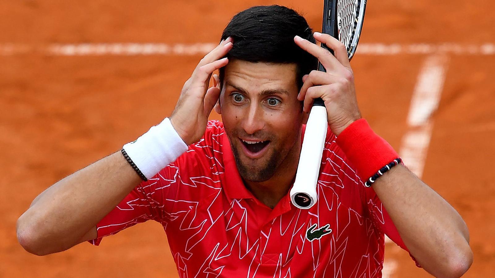 Djokovic, un positiu que posa en alerta el tenis
