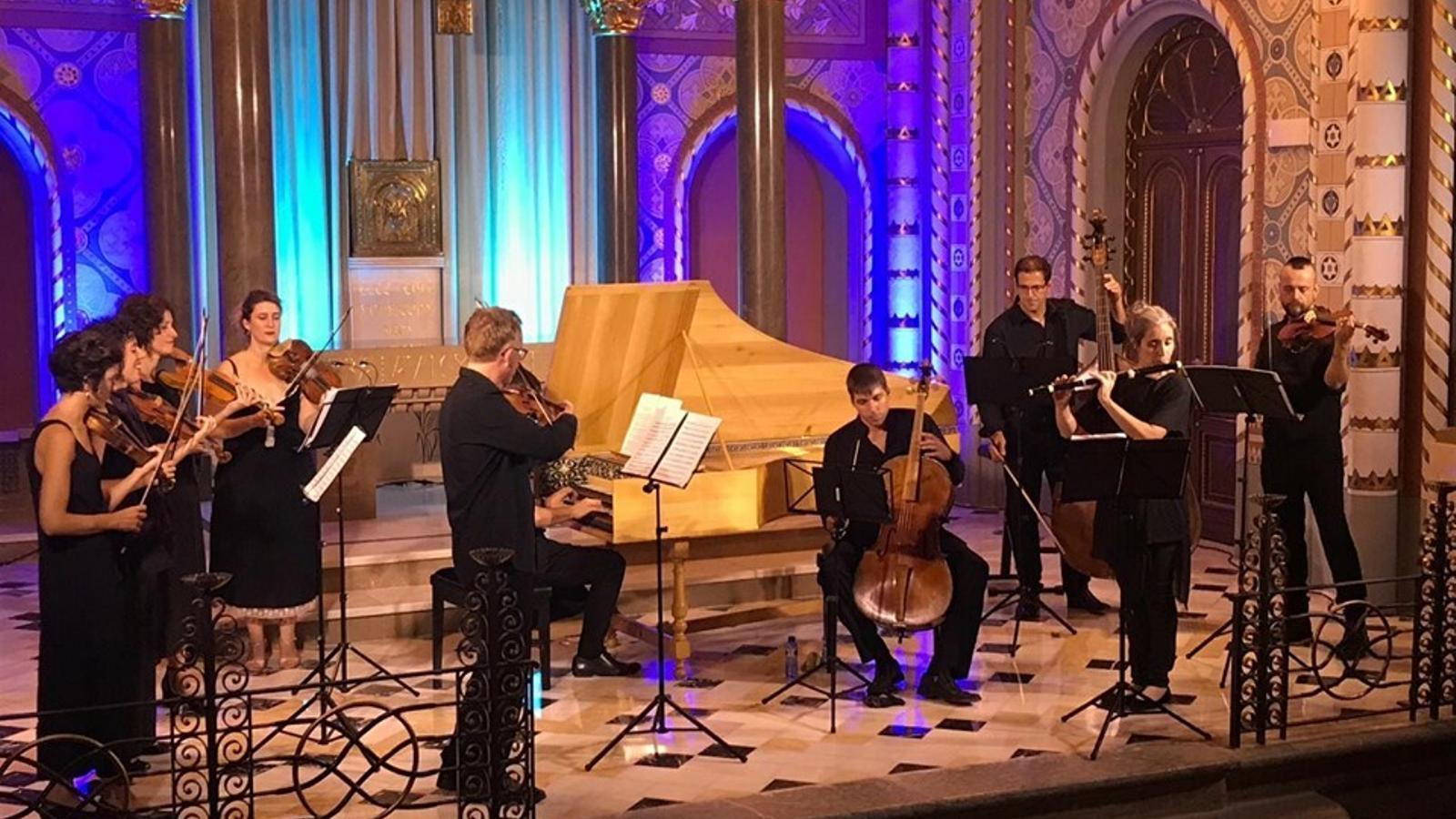 Un moment del concert de Vespres d'Arnaldí