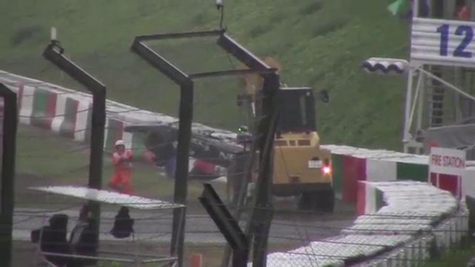 Així va ser l'accident de Jules Bianchi