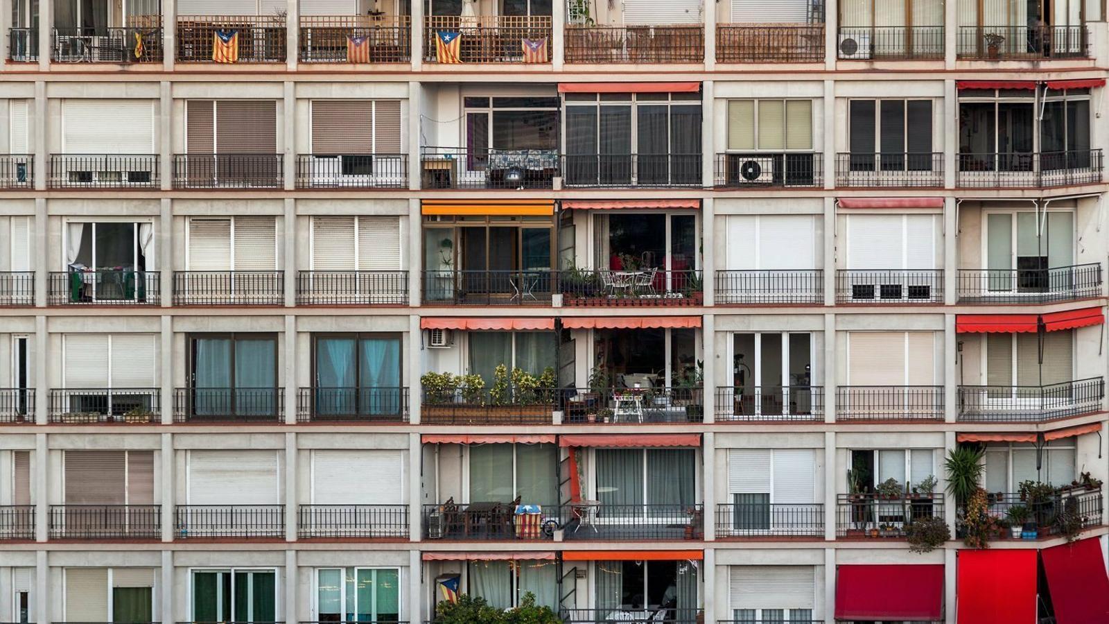 La renda creix un 32% en 18 anys  i el preu de l'habitatge un 90%