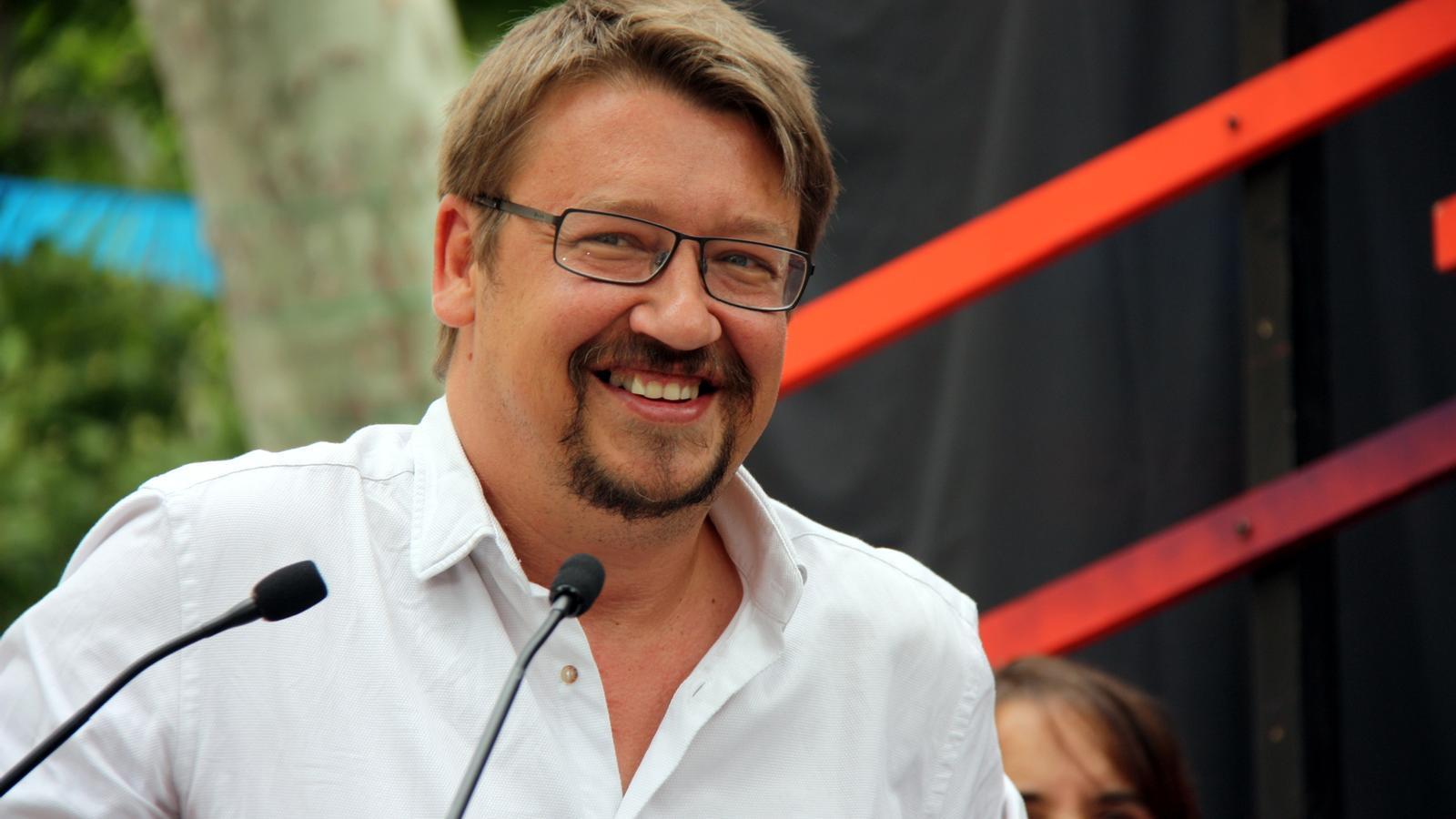 El coordinador general del nou partit dels comuns, Xavier Domènech