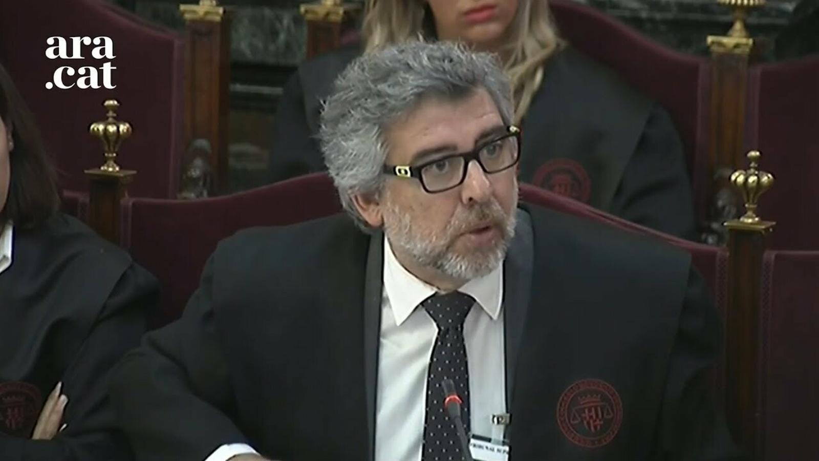 """Jordi Pina: """"Potser Sànchez va ser altiu, però quin és el tipus penal per ser borde?"""""""