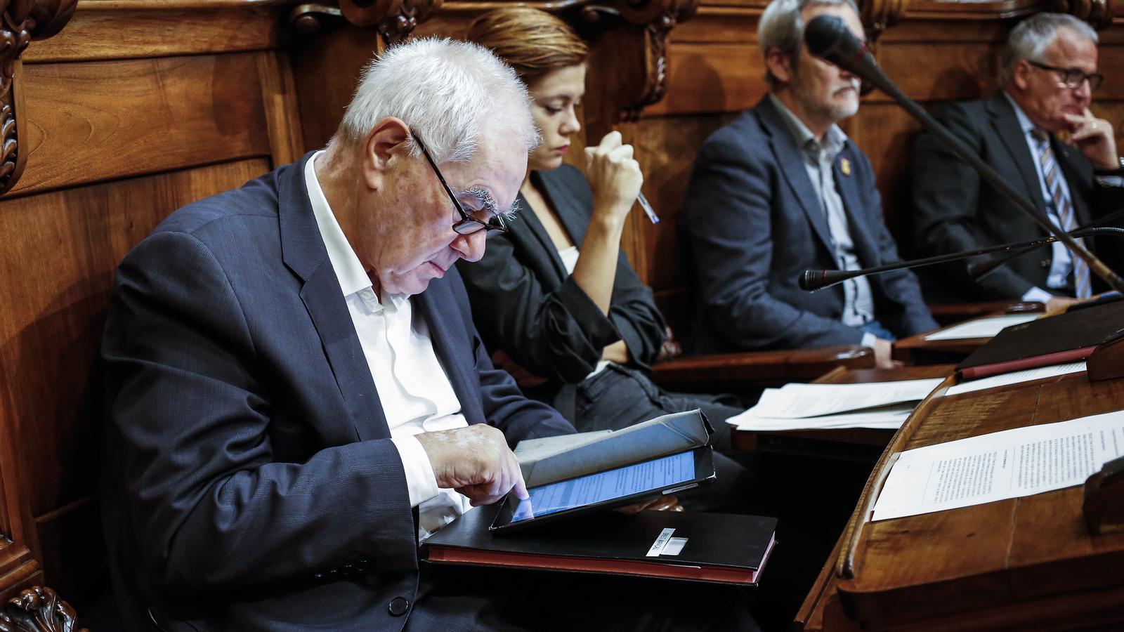 ERC demana més  inversió per donar el seu sí als pressupostos de Colau
