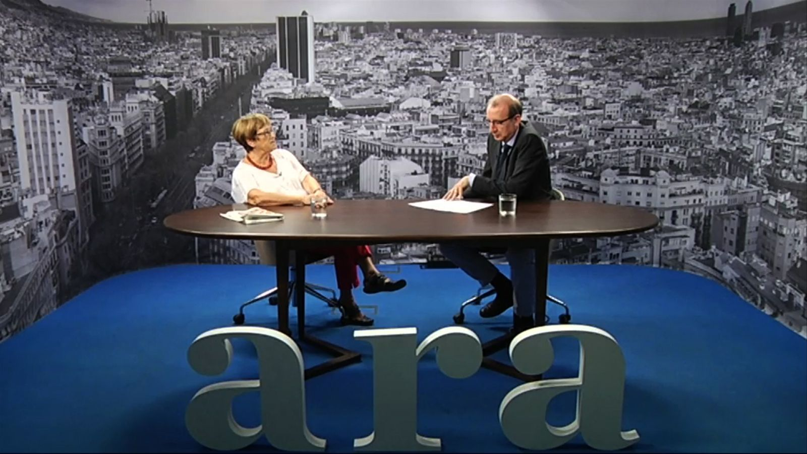Entrevista d'Antoni Bassas a Dolors Bramon