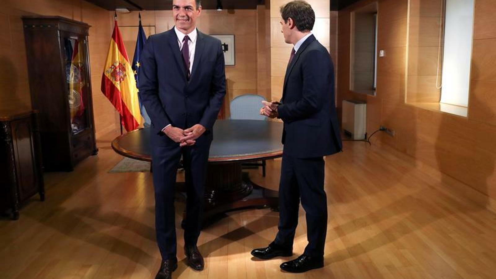 Pedro Sánchez i Albert Rivera / EFE