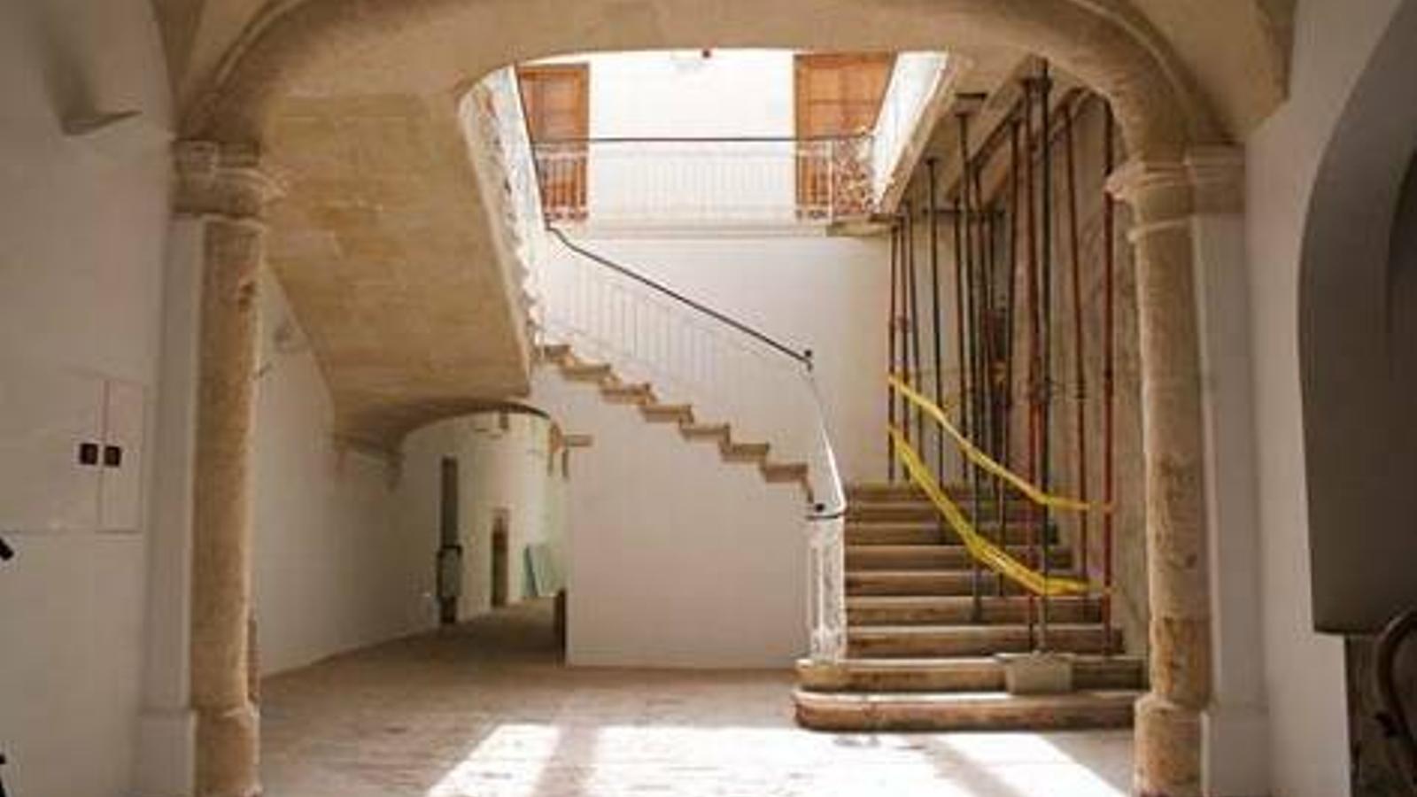 Can Saura serà un referent cultural a Ciutadella després de l'impuls del consistori per a readaptar-lo.