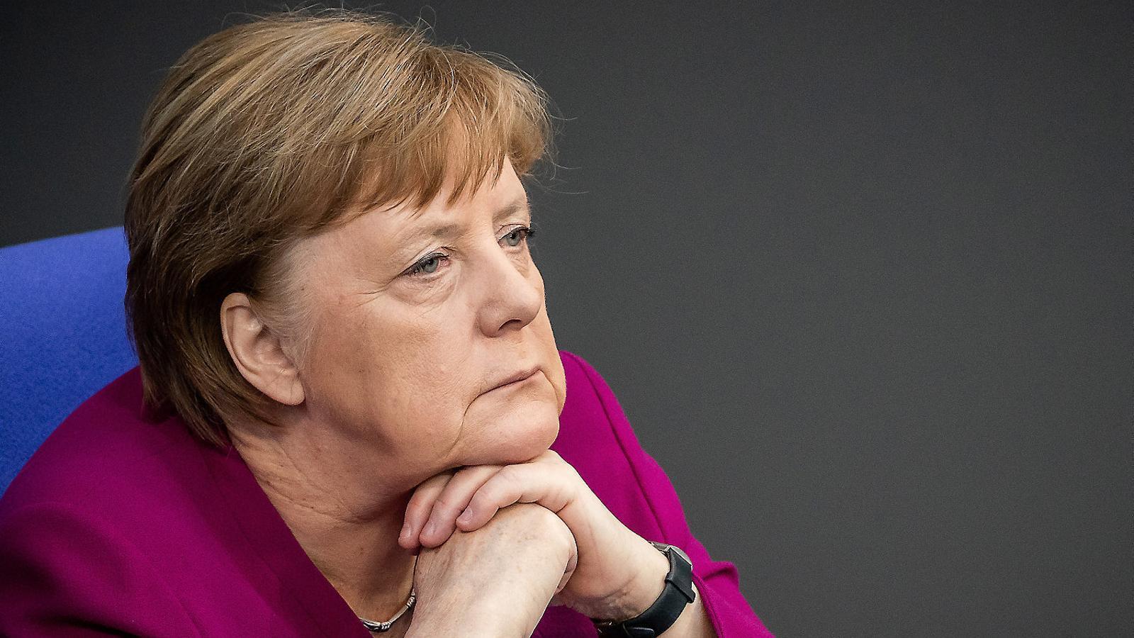 Angela Merkel és la cancellera alemanya.