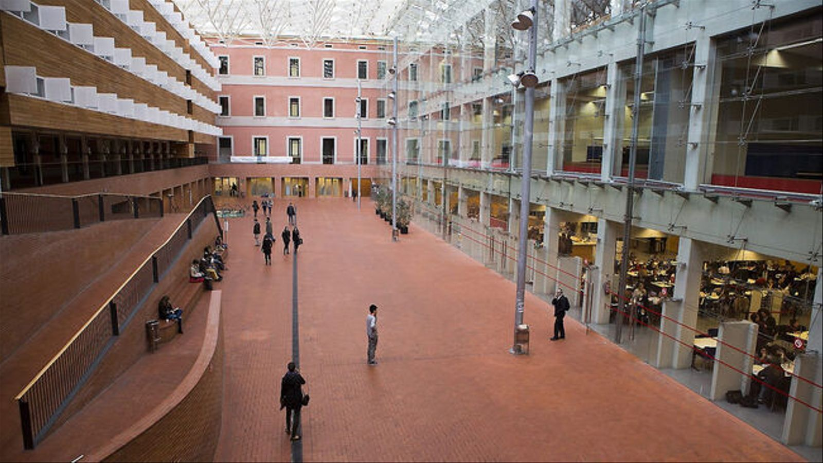 Una imatge del campus de la Ciutadella de la UPF. / MANOLO GARCÍA
