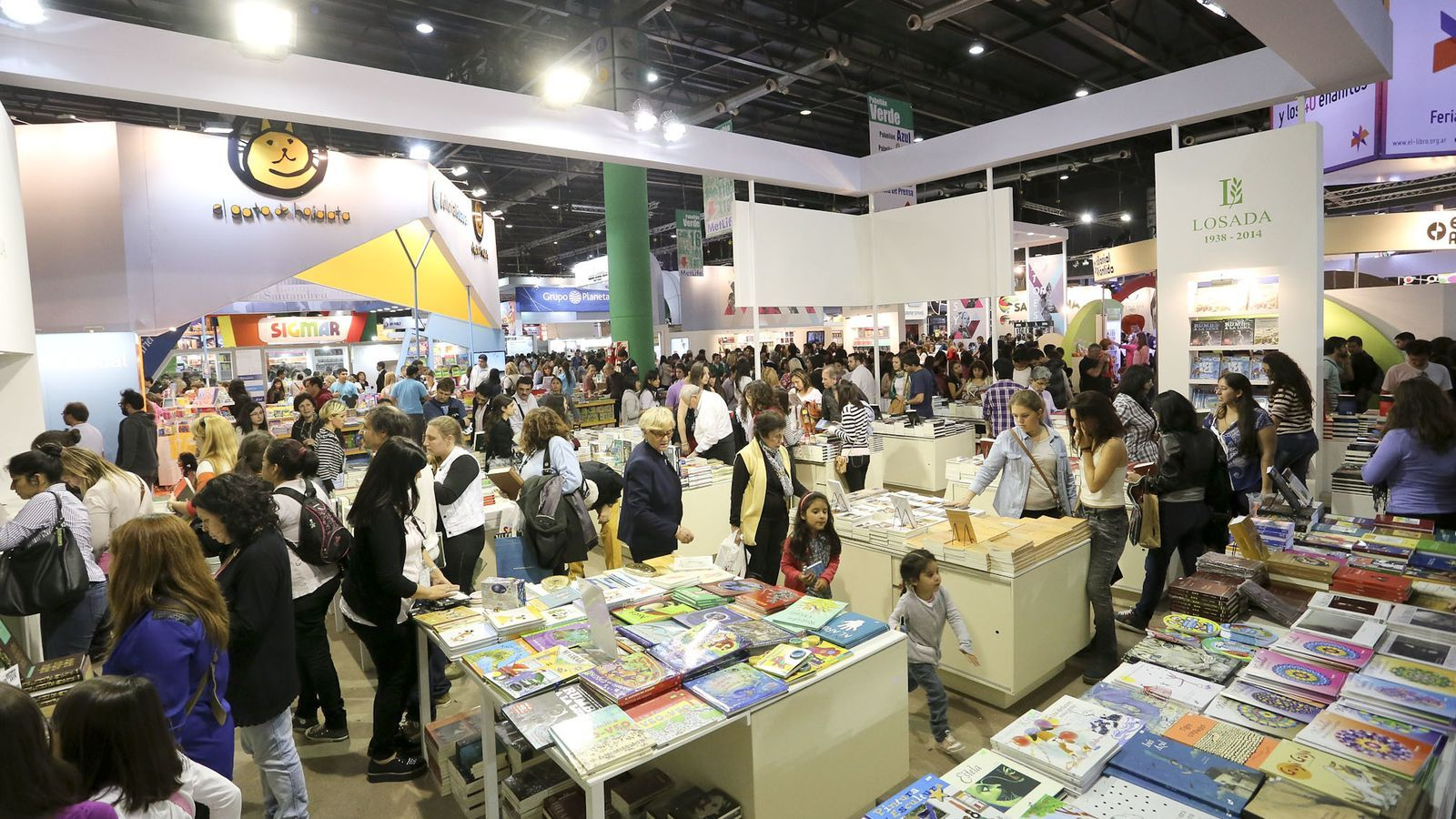 Imatge de l'edició anterior de la fira del llibre de Buenos Aires