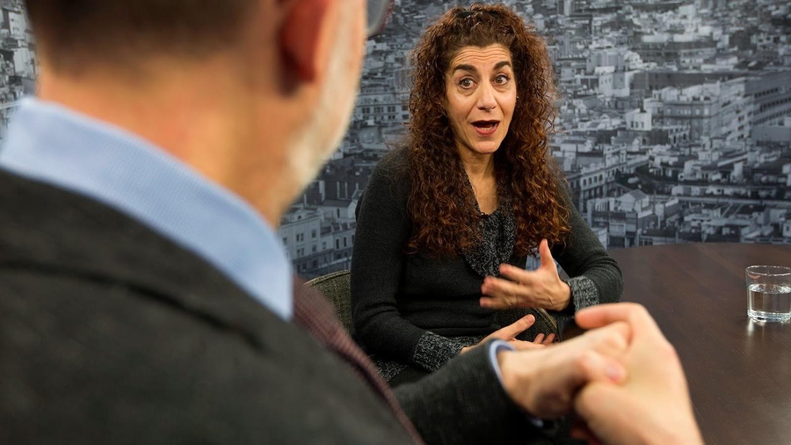 """Kari Margolis: """"Als EUA, els actors pensen a fer teatre comercial. A Catalunya hi ha més respecte per l'art"""""""