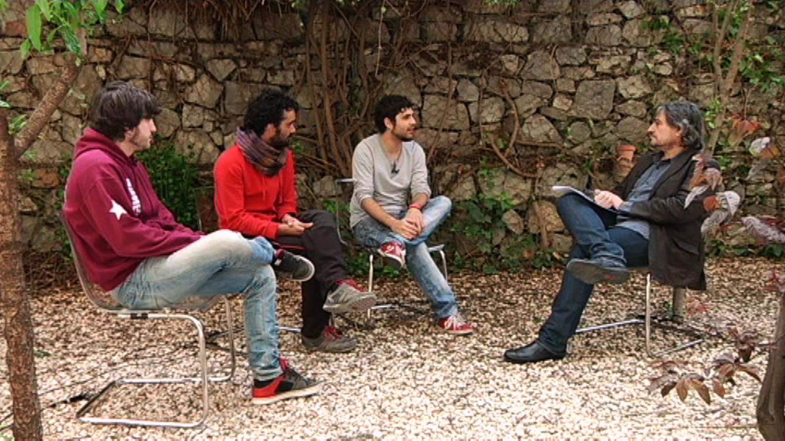 Entrevista de Carles Capdevila als Txarango
