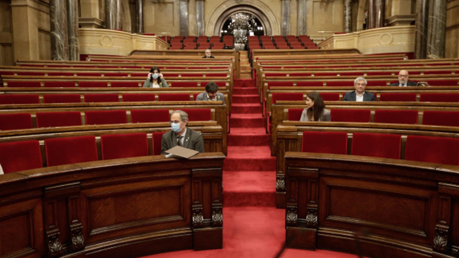 Ple del Parlament del divendres 10 de juliol de 2020