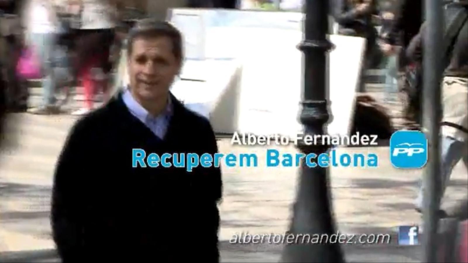'Todo no es lo que parece', vídeo electoral del PP amb Alberto Fernández Díaz