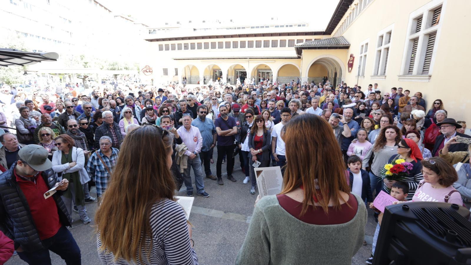 Palma es suma al clam europeu contra el feixisme i el racisme
