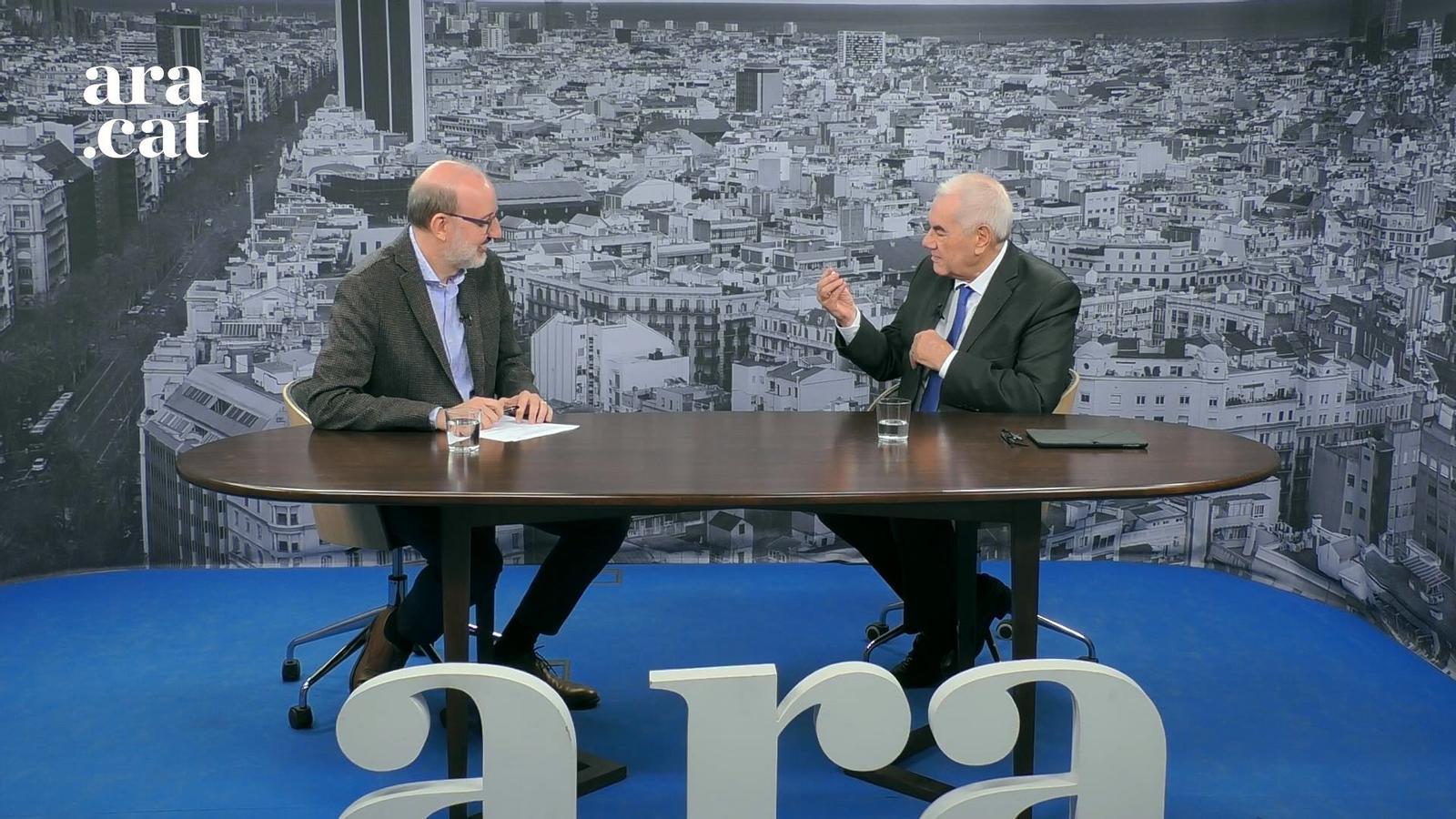 Entrevista d'Antoni Bassas a Ernest Maragall