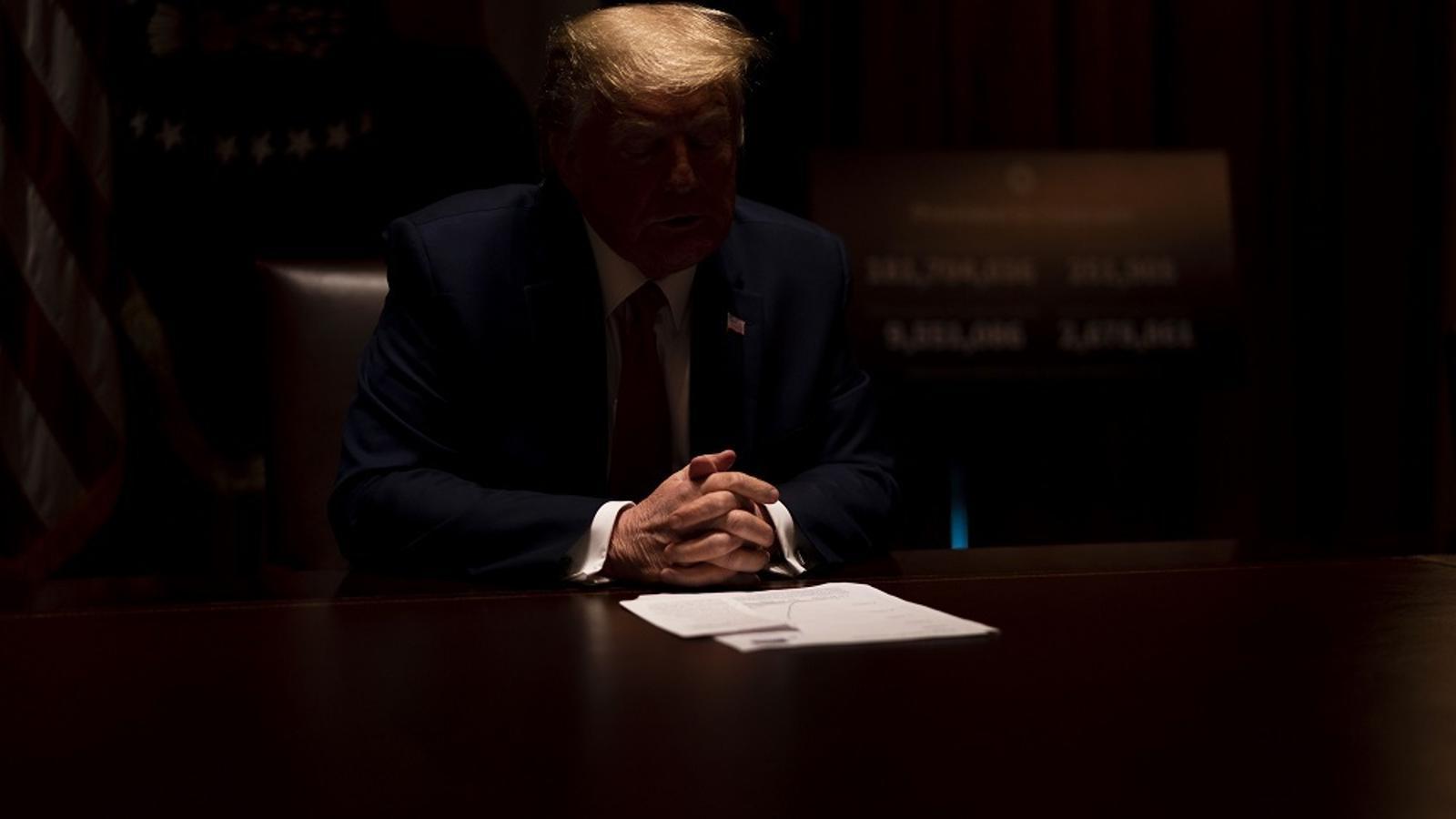 Trump ens porta al caire de l'abisme