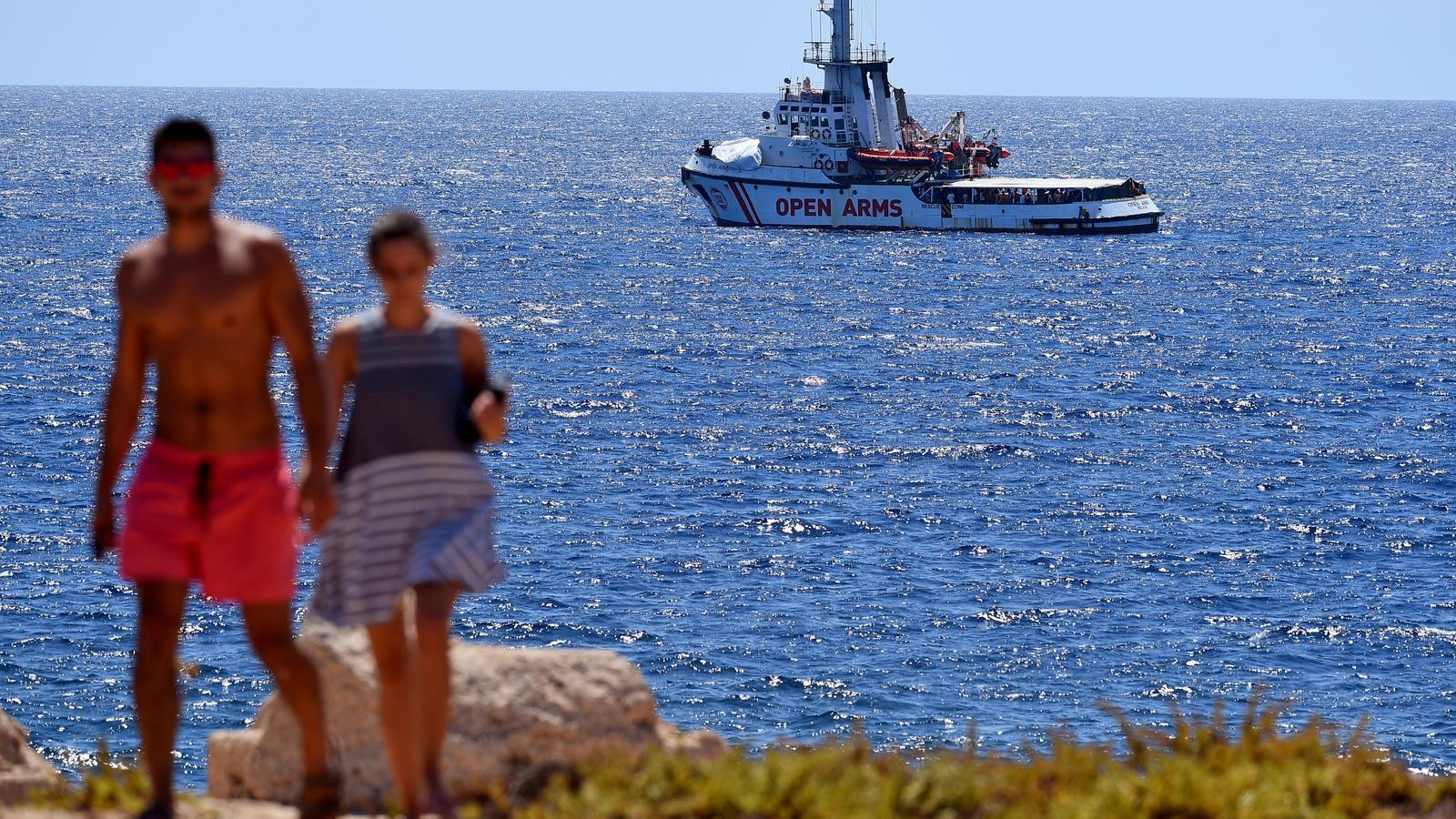 Les tres raons de l''Open Arms' per no navegar cap a un port espanyol