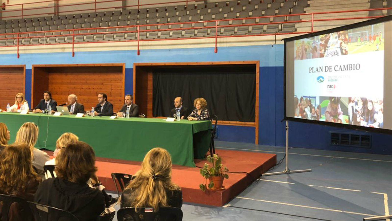 Presentació del nou projecte educatiu del Col·legi dels Pirineus. / Nace Schools