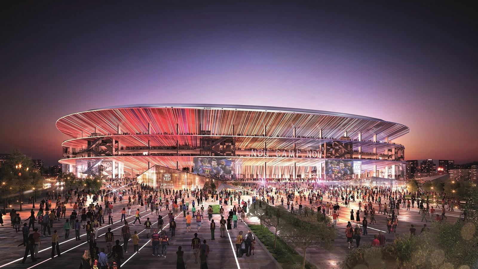 Així serà el nou Camp Nou