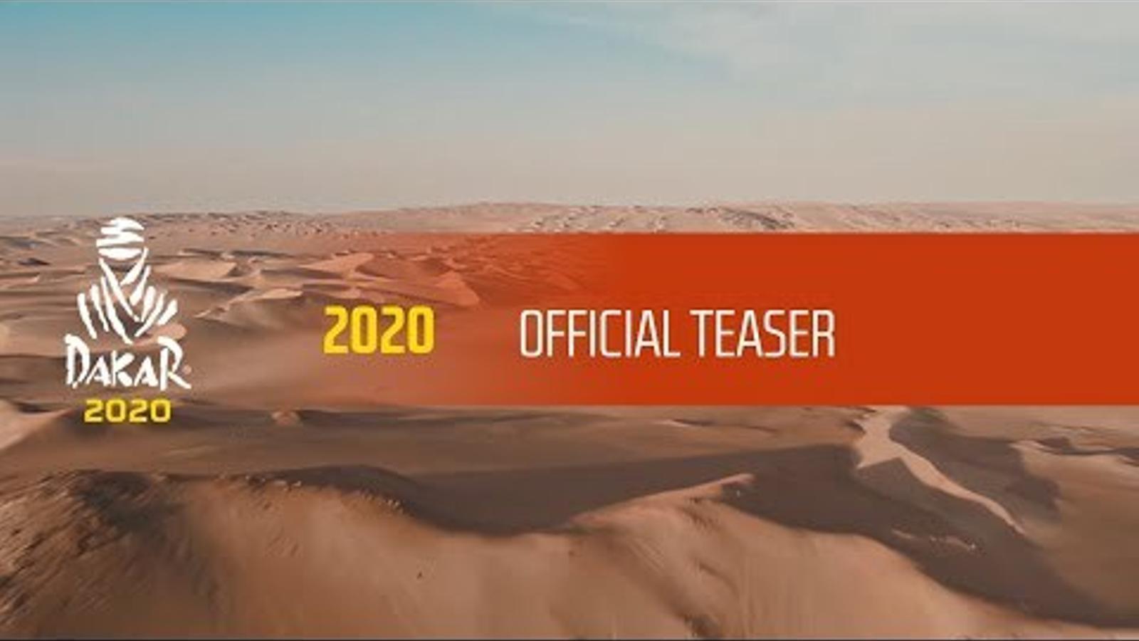 Així serà el Dakar 2020 a l'Aràbia Saudita
