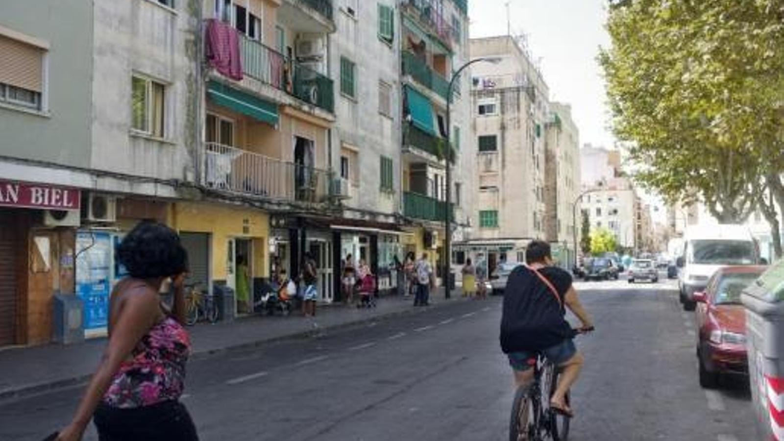 Un carrer de Son Gotleu en una imatge d'arxiu.