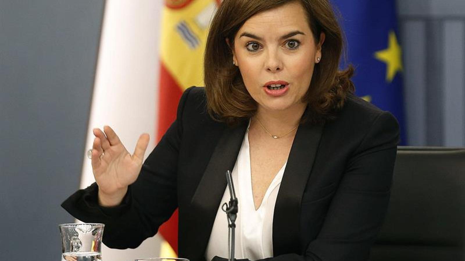 """Santamaría assegura que el 21-D es desenvoluparà amb """"absoluta netedat"""" i nega cap possibilitat de frau electoral"""
