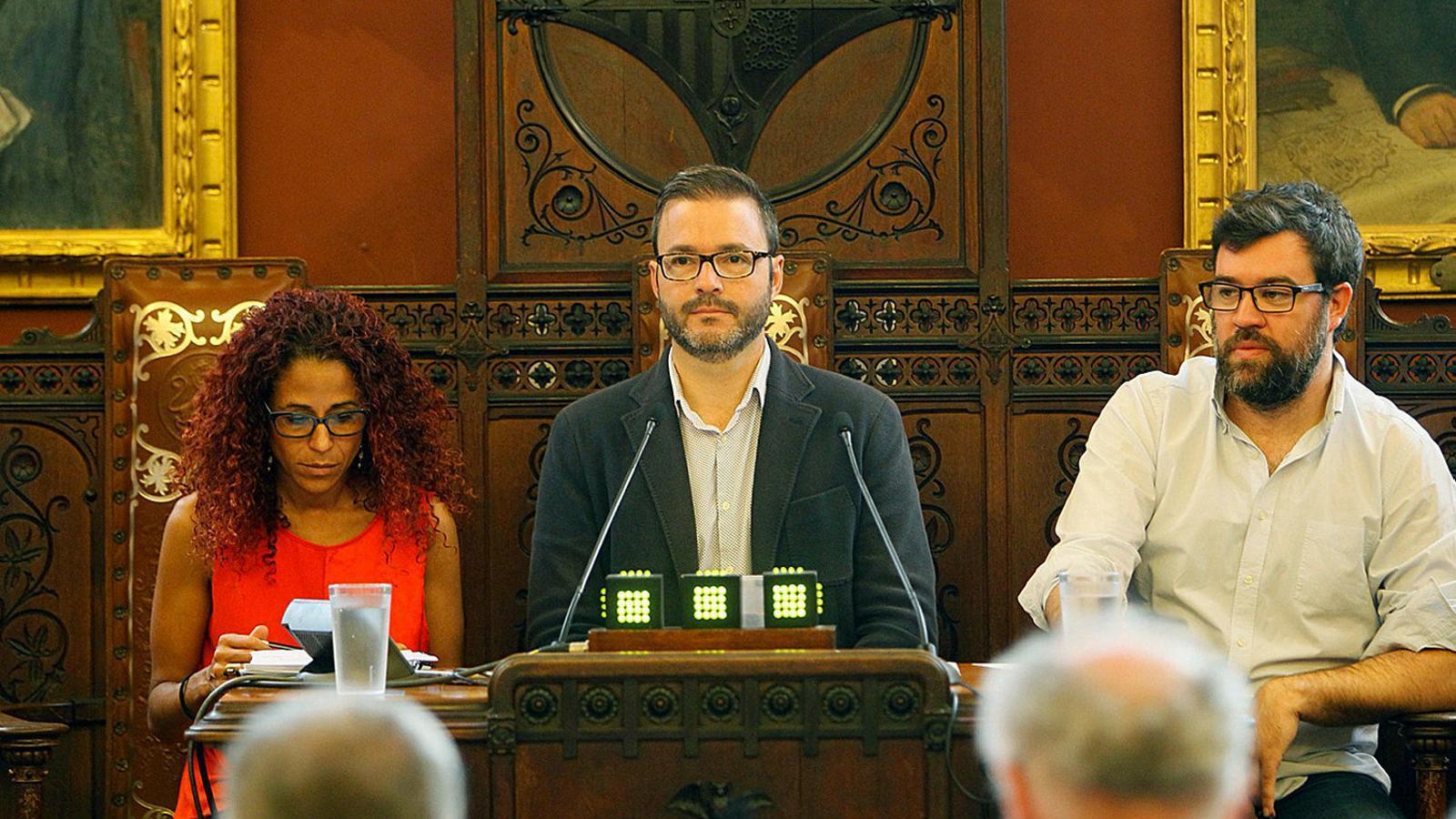 Els partits d'esquerres comencen a parlar de càrrecs a Cort