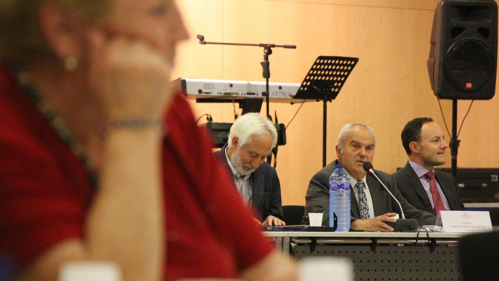 Assemblea de la Federació d'Associacions de la gent gran