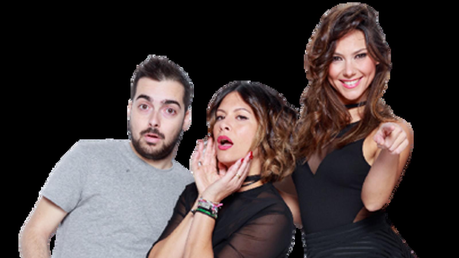 Pablo Guerola, Mar Montoro i Sara Gil presentaven 'Ponte a prueba'