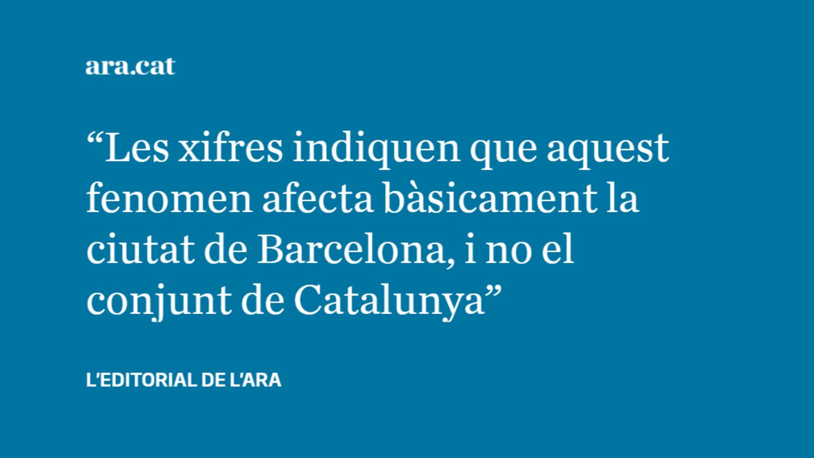 Què fem a Barcelona amb la inseguretat?