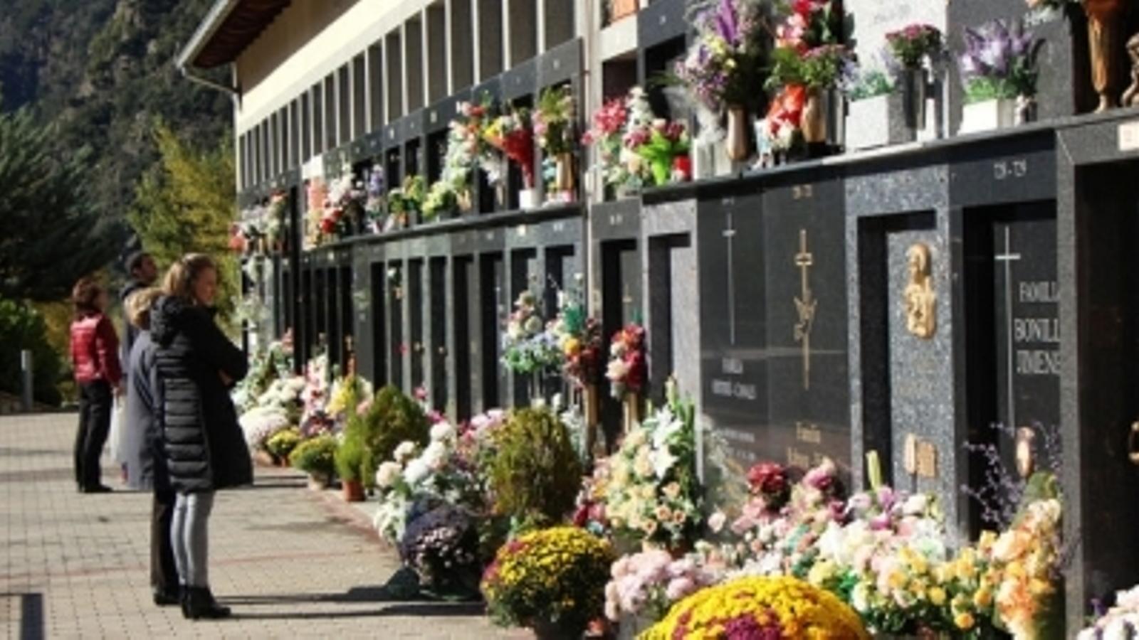 El cementiri d'Andorra la Vella. / ARXIU ANA