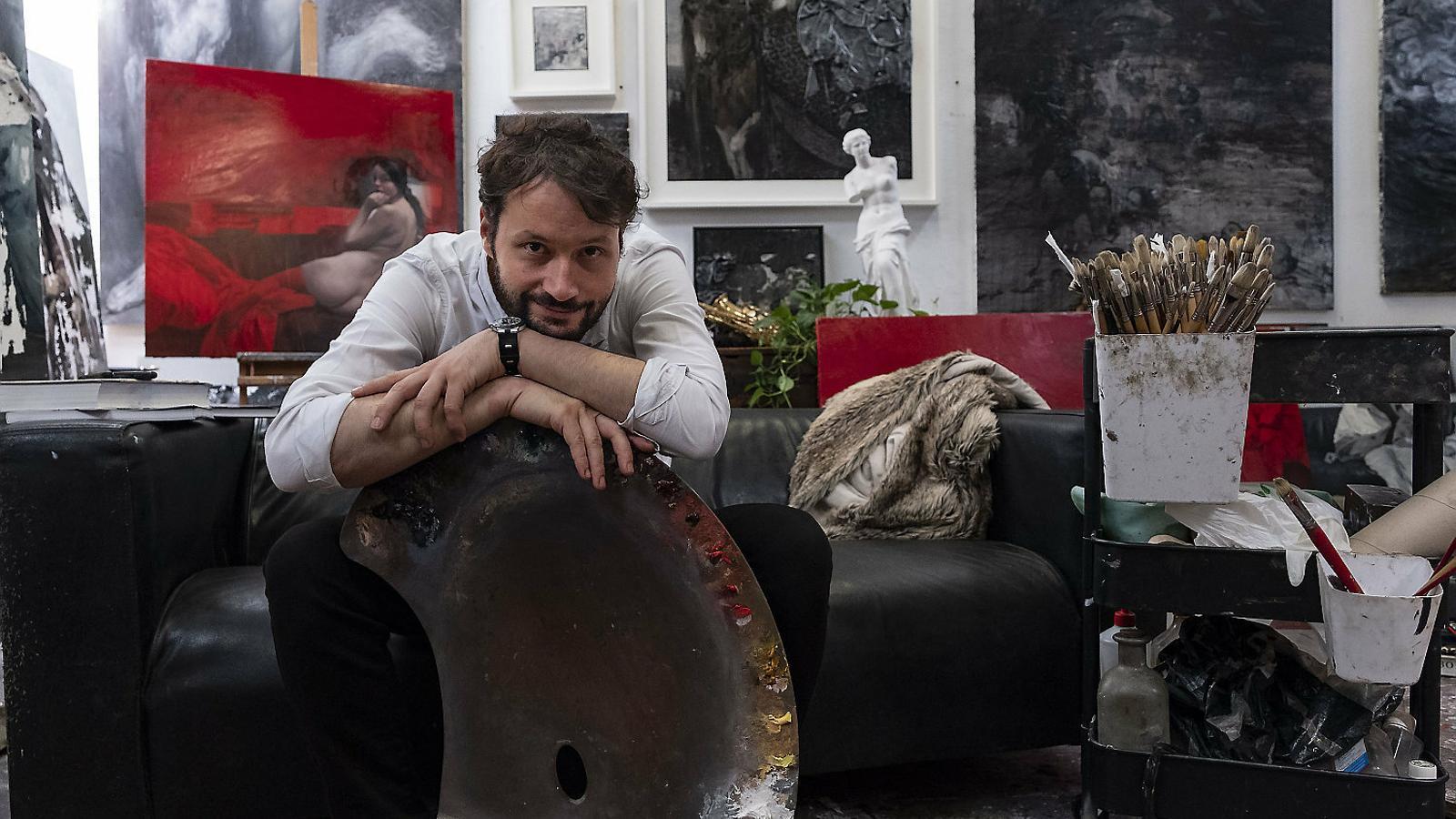 """Jordi Diaz Alamà:  """"Primer soc artista i després mestre"""""""