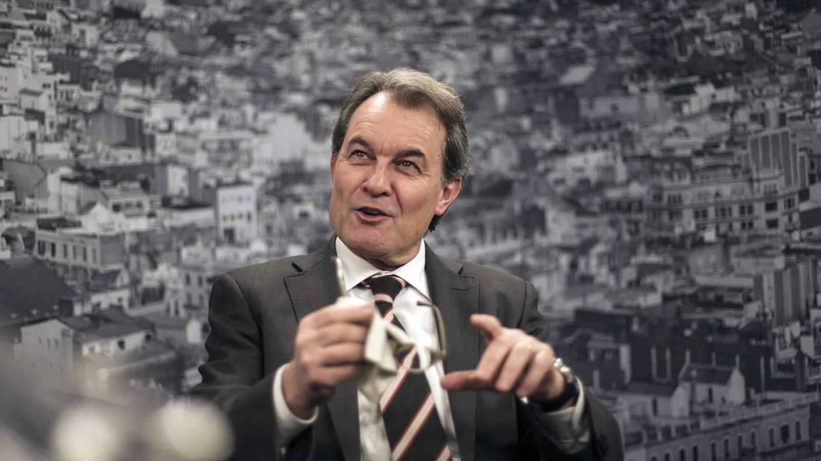 """Artur Mas, a la CUP: """"No es poden aprofitar els vots de la independència per fer la revolució"""""""