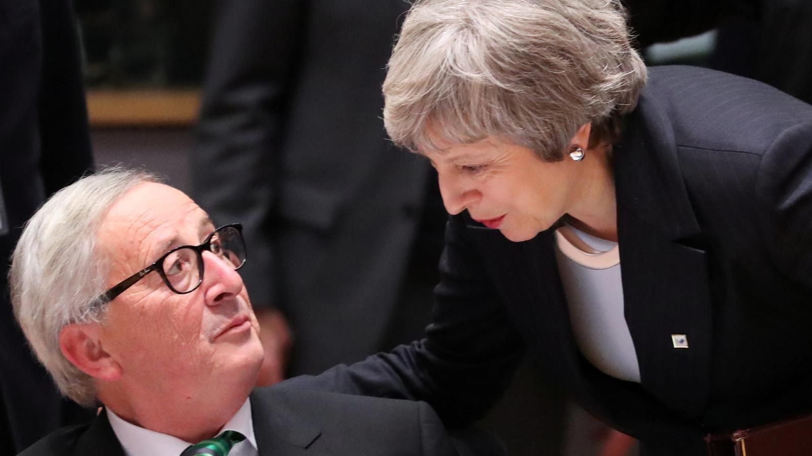 La UE tanca files i només concedeix a May bones paraules