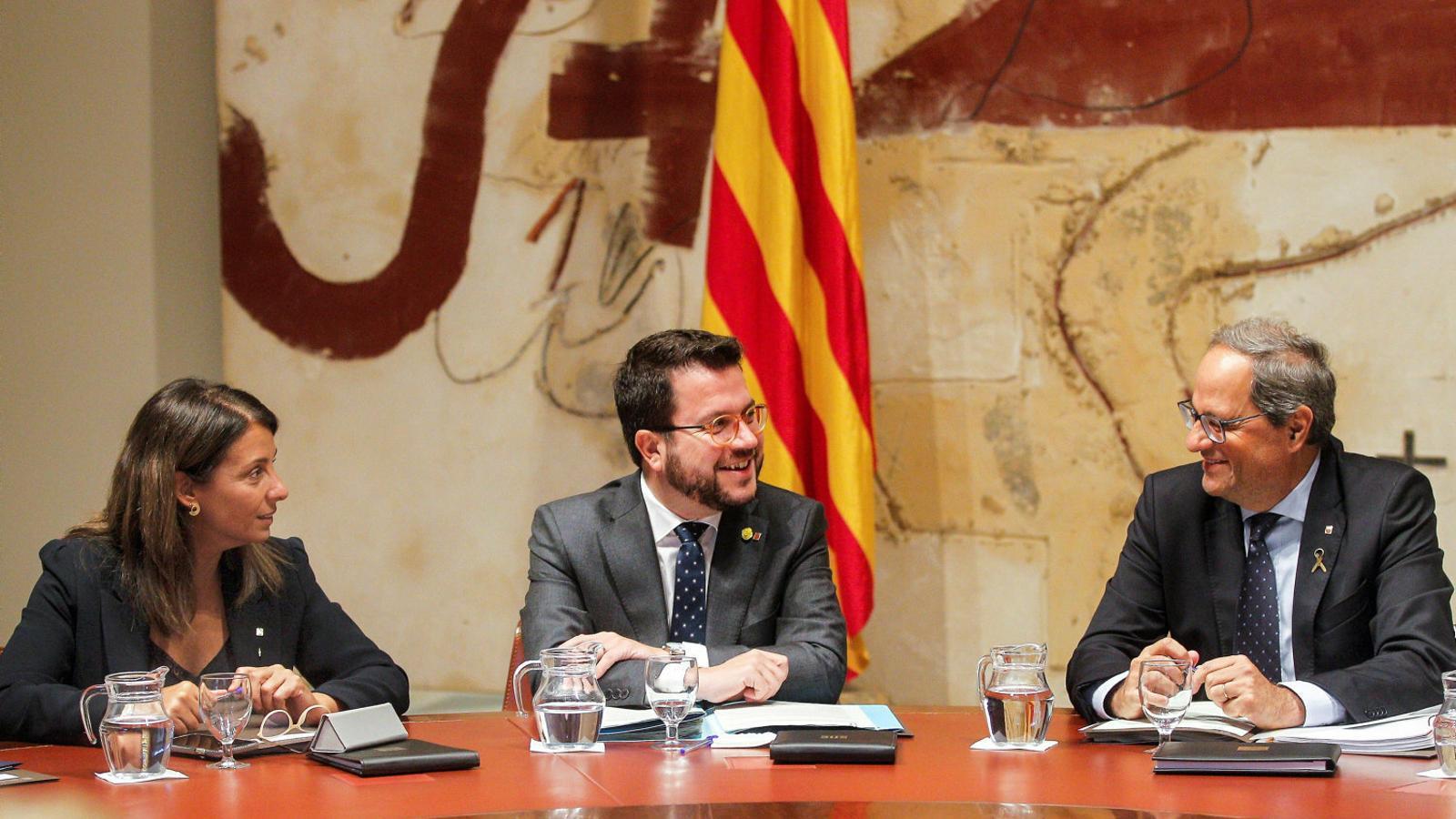 L'independentisme manté obert el debat de la resposta al Suprem