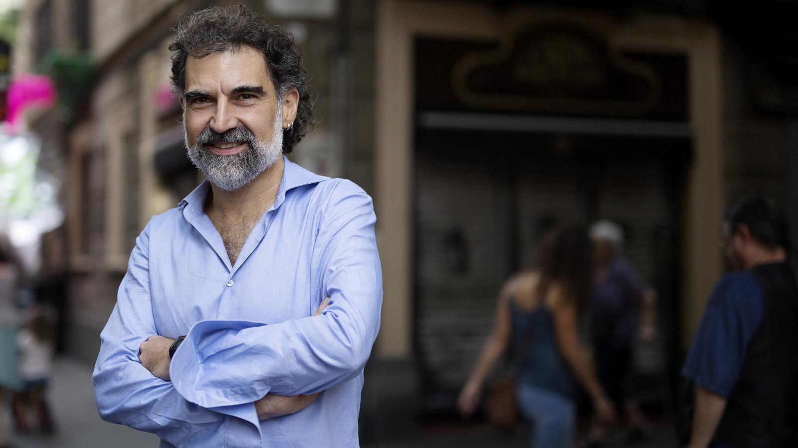 El president d'Omnium Cultural, Jordi Cuixart