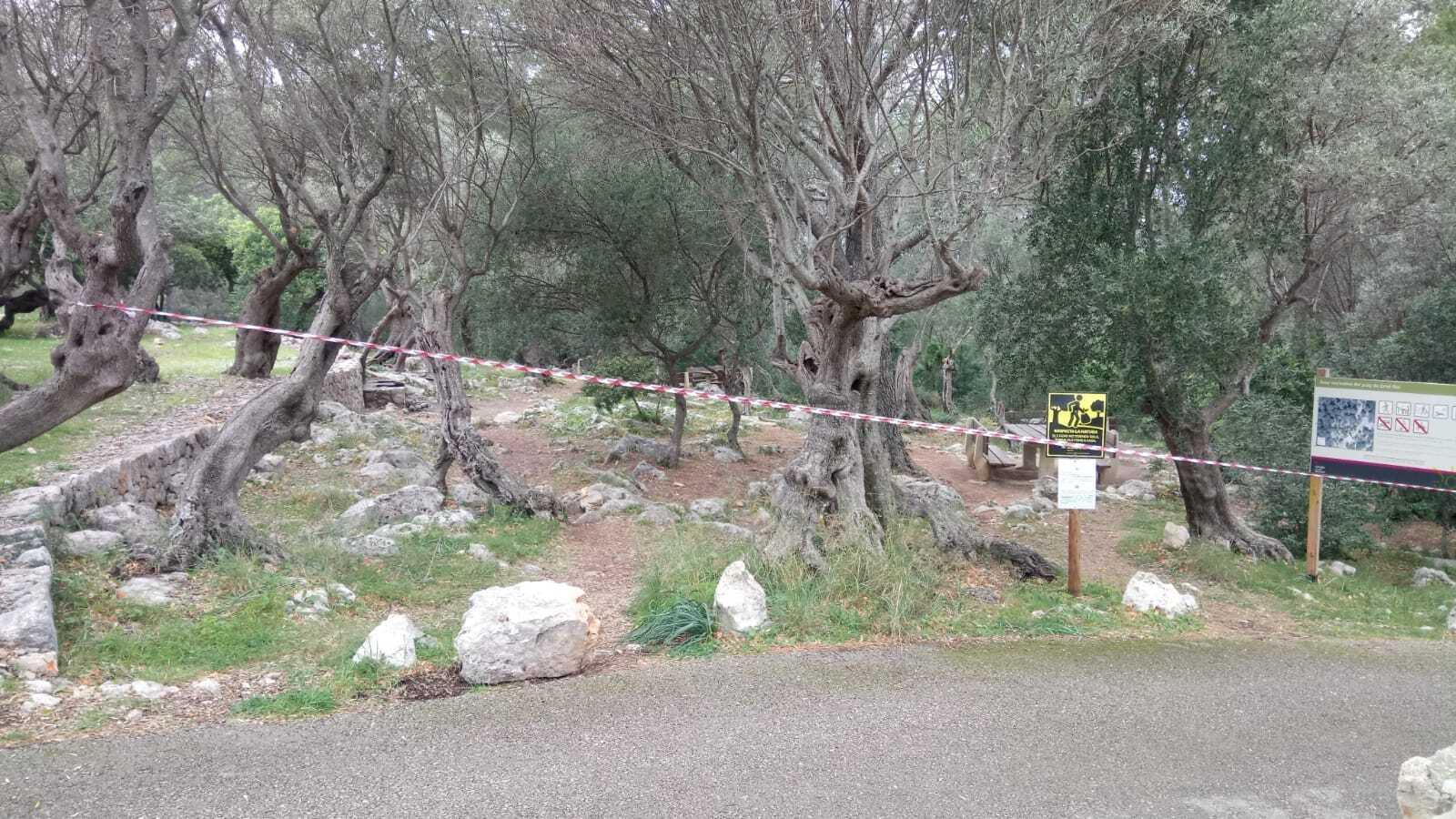 Imatge d'una de les àrees tancades que són gestionades per l'Ibanat