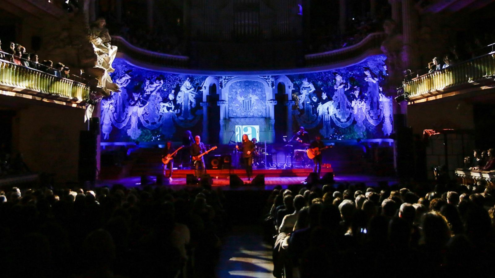 Concert de Sopa de Cabra al Palau de la Música