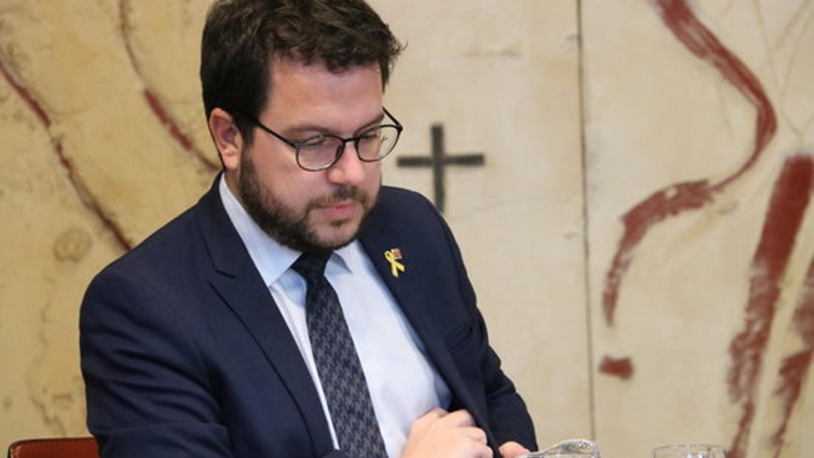 El vicepresident i conseller d'Economia, Pere Aragonès, en una imatge d'arxiu