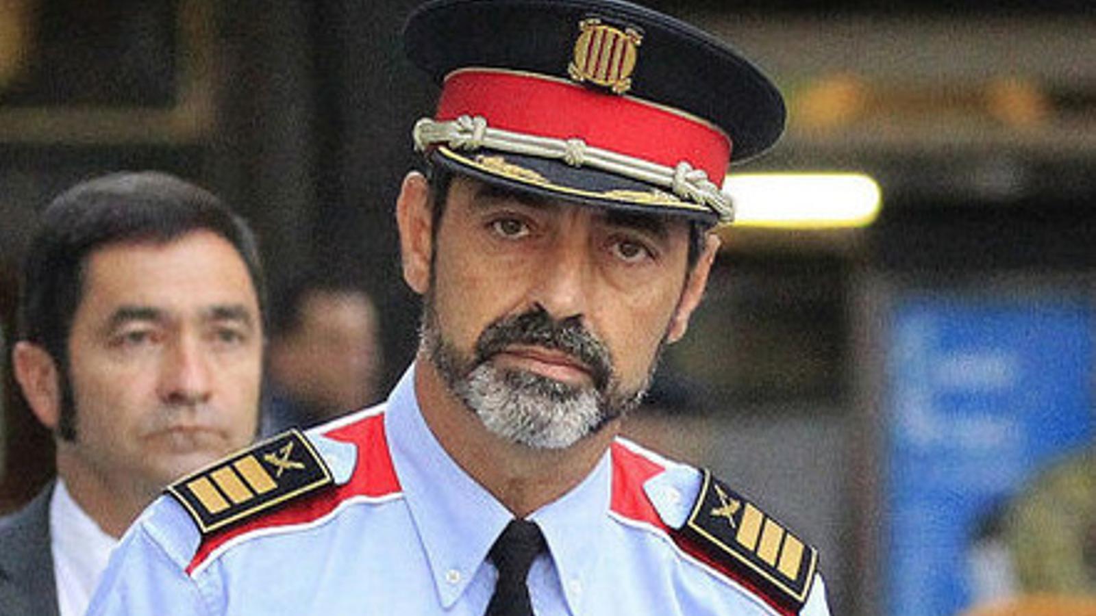 [ÀUDIO] Escolta aquí la declaració del major dels Mossos d'Esquadra