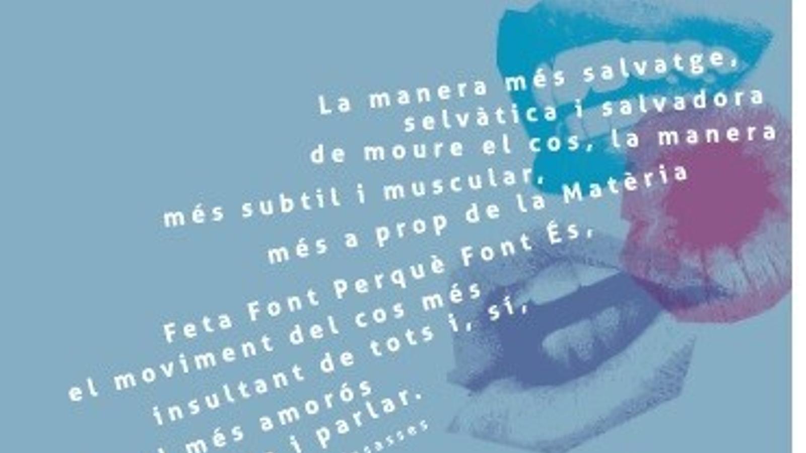 """Cartell de la IV edició de """"emParaular""""./ AJUNTAMENT DE MANACOR"""