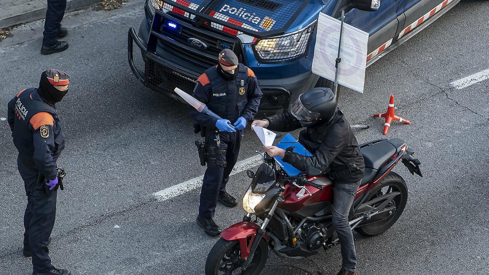 El covid-19 desploma els delictes presencials